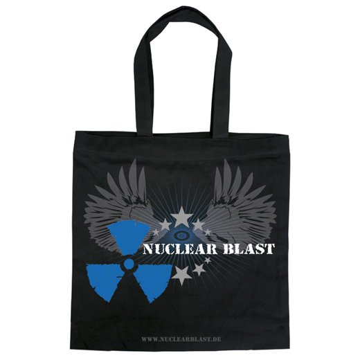 【無料プレゼント】Nuclear Blast / ニュークリア・ブラスト - Wings Blue. トートバッグ