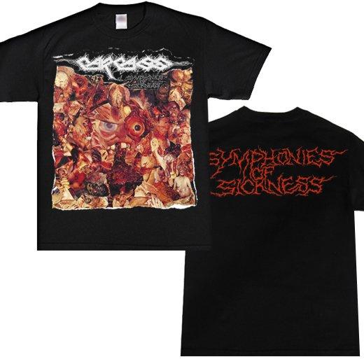 【即納商品】Carcass / カーカス - Symphonies Of Sickness. Tシャツ(Sサイズ)