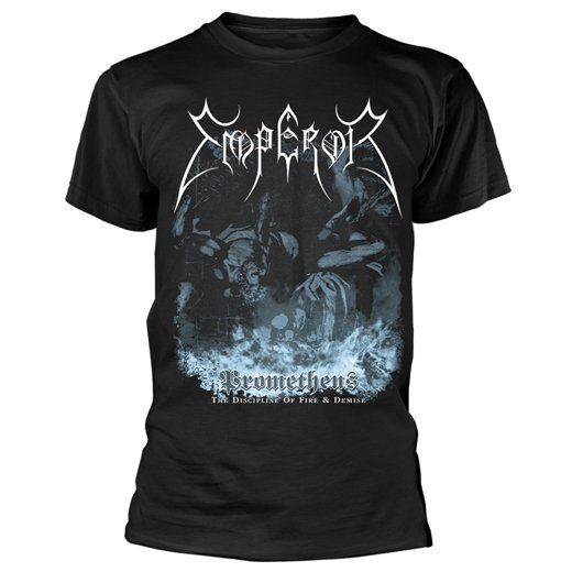 Emperor Nightside Eclipse Charcoal Long Sleeve Shirt S-XXL Official Black Metal