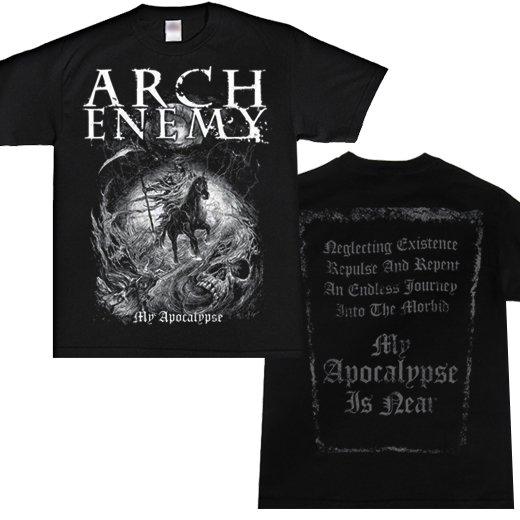 【即納商品】Arch Enemy / アーチ・エネミー - Apocalyptic Rider 2. Tシャツ(Sサイズ)