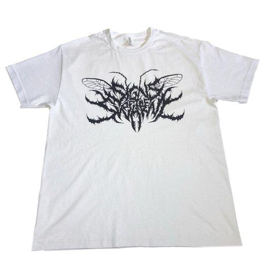 Signs of the Swarm / サインズ・オブ・ザ・スワーム - Logo (White). Tシャツ【お取寄せ】
