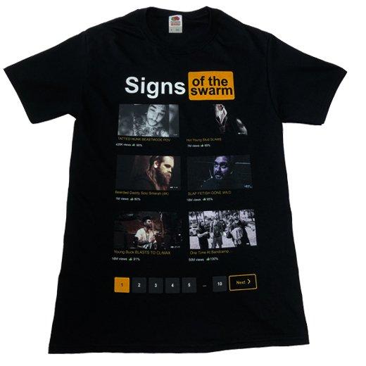 Signs of the Swarm / サインズ・オブ・ザ・スワーム - SignsHub. Tシャツ【お取寄せ】