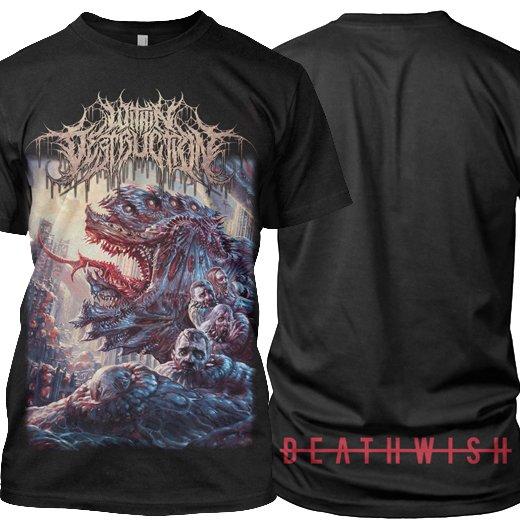 Within Destruction / ウィズイン・デストラクション - Deathwish. Tシャツ【お取寄せ】