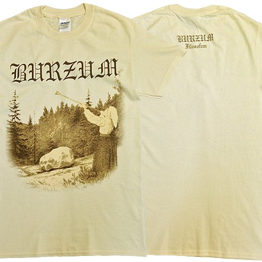 【即納商品】Burzum / バーズム - Filosofem (Cream). Tシャツ(XLサイズ)