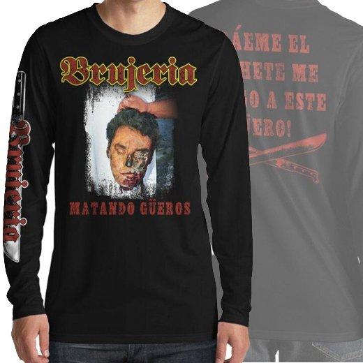 【即納商品】Brujeria / ブルへリア - Mantando Gueros. ロングスリーブTシャツ(XLサイズ)