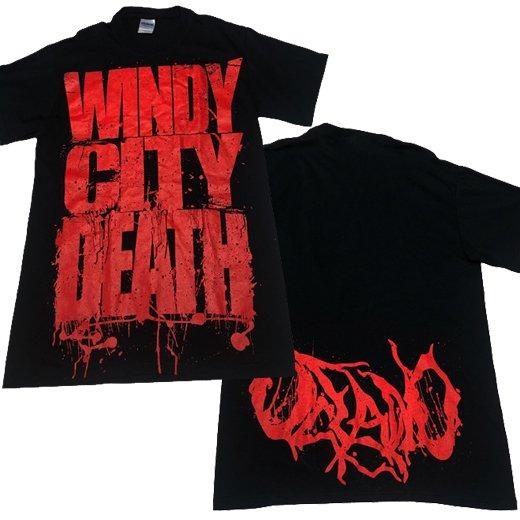 【即納商品】Oceano / オセアノ - Windy City Death. Tシャツ(Sサイズ)