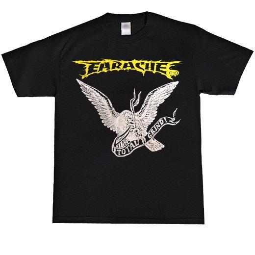 【即納商品】Earache Records / イヤーエイク・レコード - Grind Eagle. Tシャツ(XXLサイズ)
