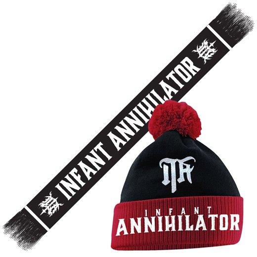 Infant Annihilator / インファント・アナイアレーター - Custom Knit Cap & Scarf. バンドル【お取寄せ】