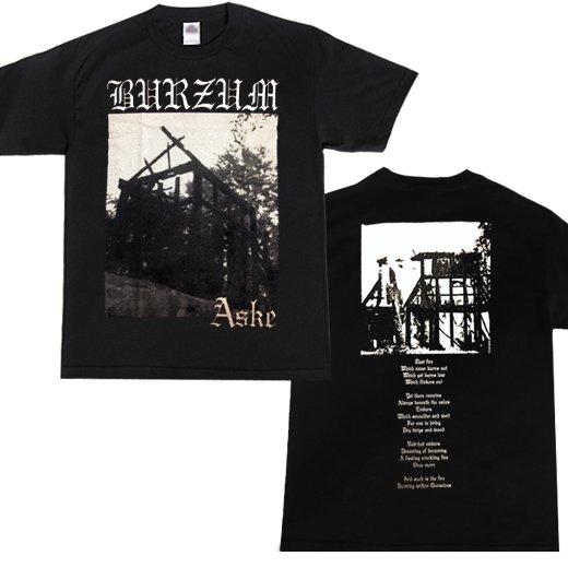 【即納商品】Burzum / バーズム - Aske. Tシャツ(Lサイズ)