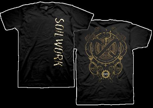 【即納商品】Soilwork / ソイルワーク - The Living Infinite. Tシャツ(Sサイズ)