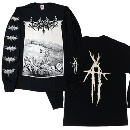 【即納商品】Disentomb / ディセントゥーム - Black Metal. ロングスリーブTシャツ(Sサイズ)