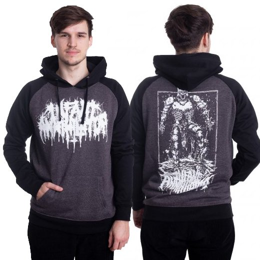 <img class='new_mark_img1' src='https://img.shop-pro.jp/img/new/icons1.gif' style='border:none;display:inline;margin:0px;padding:0px;width:auto;' />Infant Annihilator / インファント・アナイアレーター - Plaguebearer (Charcoal x Black). パーカー【お取寄せ】