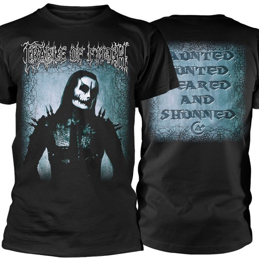 <img class='new_mark_img1' src='https://img.shop-pro.jp/img/new/icons1.gif' style='border:none;display:inline;margin:0px;padding:0px;width:auto;' />Cradle Of Filth / クレイドル・オブ・フィルス - Haunted Hunted. Tシャツ【お取寄せ】