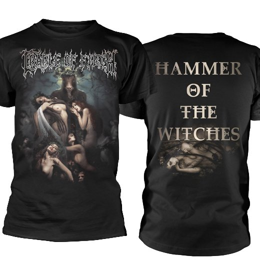 <img class='new_mark_img1' src='https://img.shop-pro.jp/img/new/icons1.gif' style='border:none;display:inline;margin:0px;padding:0px;width:auto;' />Cradle Of Filth / クレイドル・オブ・フィルス - Hammer Of The Witches. Tシャツ【お取寄せ】