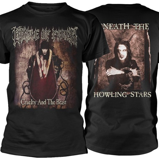 <img class='new_mark_img1' src='https://img.shop-pro.jp/img/new/icons1.gif' style='border:none;display:inline;margin:0px;padding:0px;width:auto;' />Cradle Of Filth / クレイドル・オブ・フィルス - Cruelty And The Beast. Tシャツ【お取寄せ】