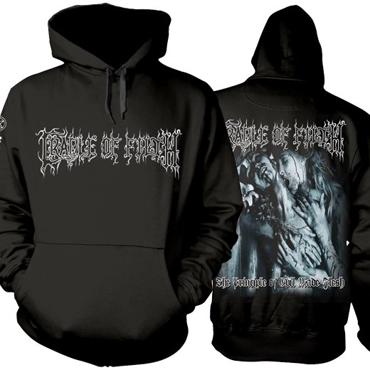 <img class='new_mark_img1' src='https://img.shop-pro.jp/img/new/icons1.gif' style='border:none;display:inline;margin:0px;padding:0px;width:auto;' />Cradle Of Filth / クレイドル・オブ・フィルス - The Principle Of Evil Made Flesh. パーカー【お取寄せ】