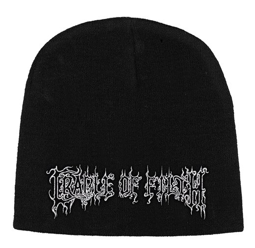 <img class='new_mark_img1' src='https://img.shop-pro.jp/img/new/icons1.gif' style='border:none;display:inline;margin:0px;padding:0px;width:auto;' />Cradle Of Filth / クレイドル・オブ・フィルス - Logo. ニットキャップ【お取寄せ】