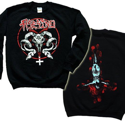 【即納商品】Asesino / アセシノ - Goat Skulls. トレーナー (Sサイズ )