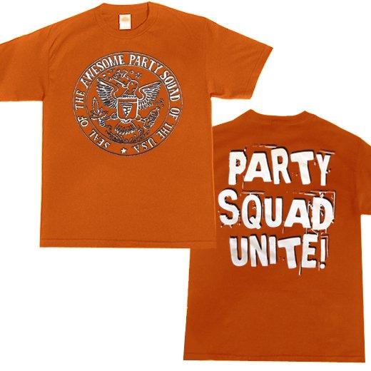 【即納商品】Cross Examination / クロス・イグザミネーション - Awesome Party Squad. Tシャツ (Lサイズ )