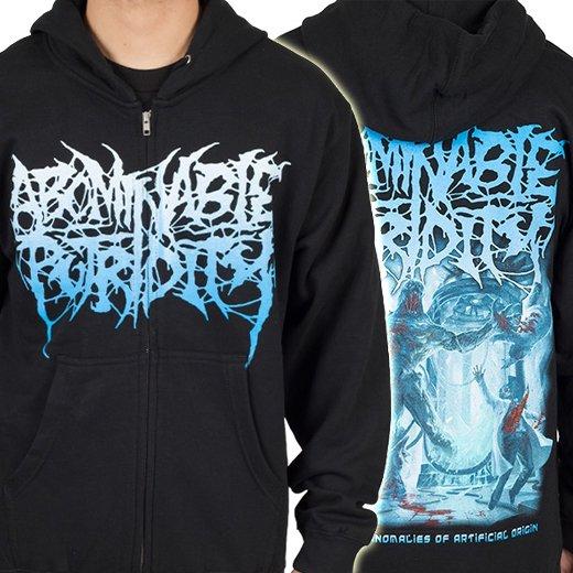 Abominable Putridity / アボミナブル・ピュトリディティ - The Anomalies of Artificial Origin. ジップアップパーカー【お取寄せ】