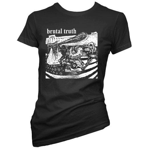 【お取寄せ】Brutal Truth / ブルータル・トゥルース - Kill Pig. レディースTシャツ