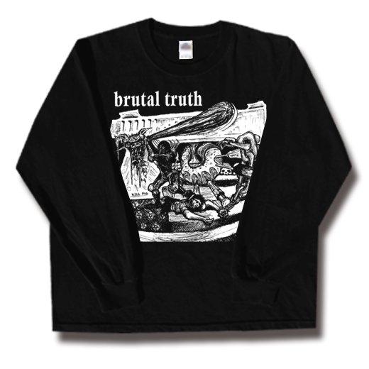 【お取寄せ】Brutal Truth / ブルータル・トゥルース - Kill Pig. ロングスリーブTシャツ