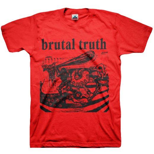 【お取寄せ】Brutal Truth / ブルータル・トゥルース - Kill Pig (Red). Tシャツ