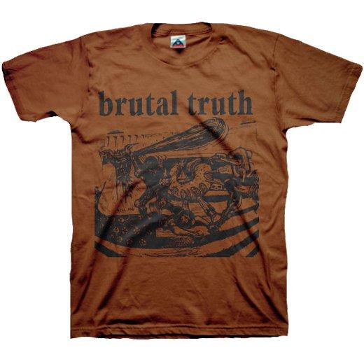 【お取寄せ】Brutal Truth / ブルータル・トゥルース - Kill Pig (Chocolate). Tシャツ
