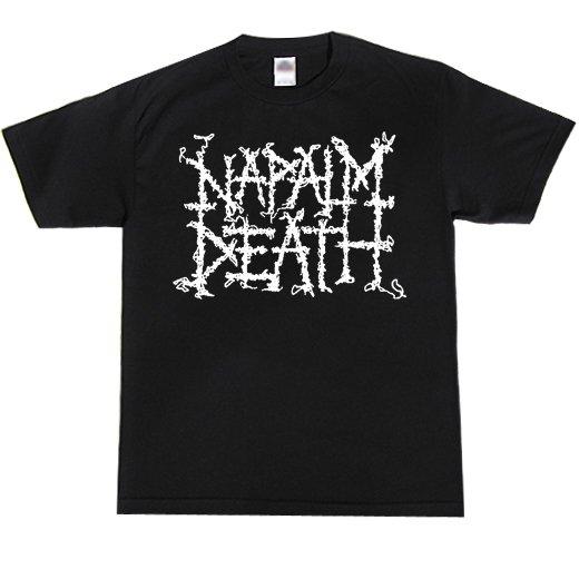 Napalm Death / ナパーム・デス - Logo. Tシャツ【お取寄せ】