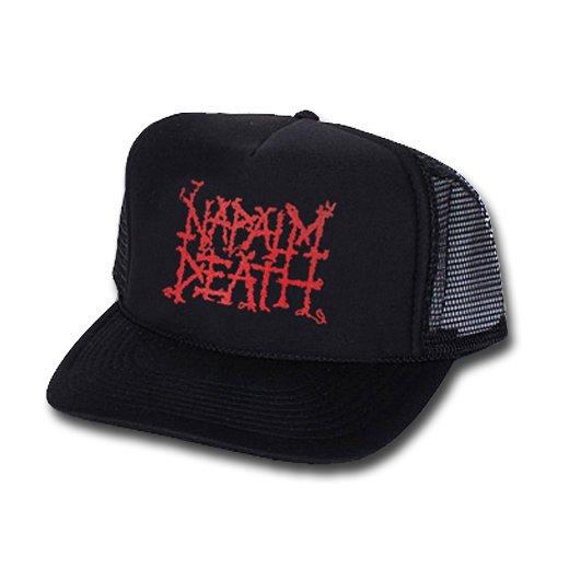 Napalm Death / ナパーム・デス - Logo. メッシュキャップ【お取寄せ】