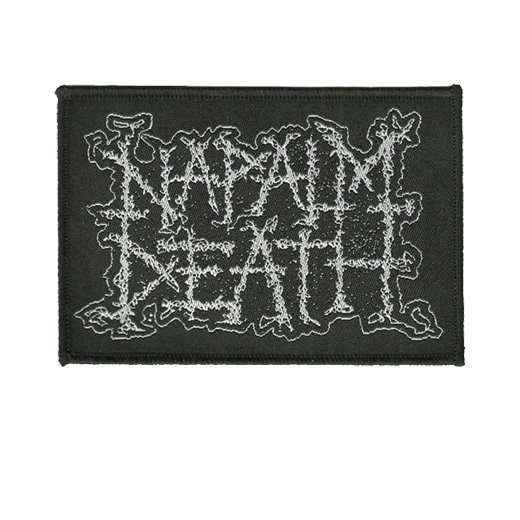 Napalm Death / ナパーム・デス - Logo. パッチ【お取寄せ】