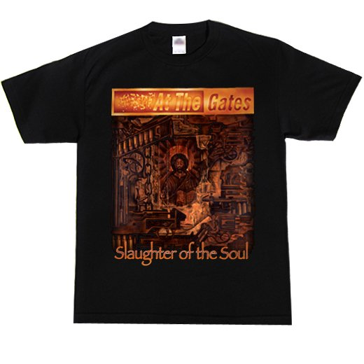 At The Gates / アット・ザ・ゲイツ - Slaughter Of The Soul. Tシャツ【お取寄せ】