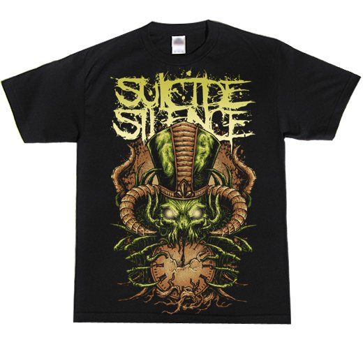 Suicide Silence / スーサイド・サイレンス - Time Stealer. Tシャツ【お取寄せ】