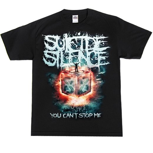 Suicide Silence / スーサイド・サイレンス - You Can't Stop Me. Tシャツ【お取寄せ】