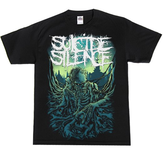 Suicide Silence / スーサイド・サイレンス - Zombie Rise. Tシャツ【お取寄せ】