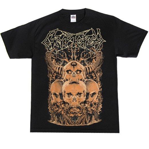 Cryptopsy / クリプトプシー - Four Skulls. Tシャツ【お取寄せ】