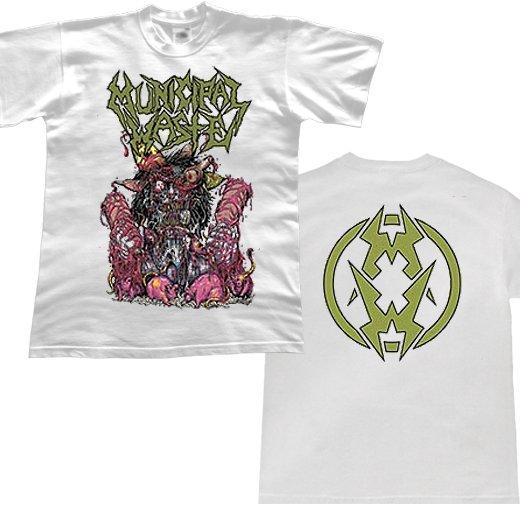Municipal Waste / ミュニシパル・ウェイスト - Green Logo Rats. Tシャツ【お取寄せ】