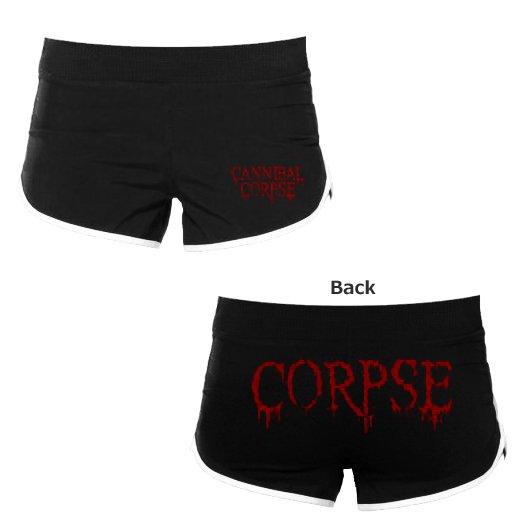 【お取寄せ】Cannibal Corpse / カンニバル・コープス - Logo. ガールズランニングショーツ