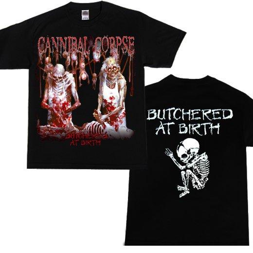 【お取寄せ】Cannibal Corpse / カンニバル・コープス - Butchered At Birth. Tシャツ