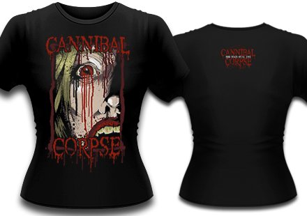 【お取寄せ】Cannibal Corpse / カンニバル・コープス - Face. レディースTシャツ