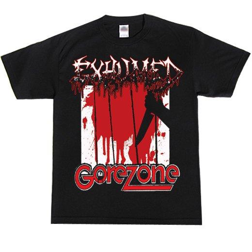 【お取寄せ】Exhumed / イグジュームド - Gore Zone. Tシャツ