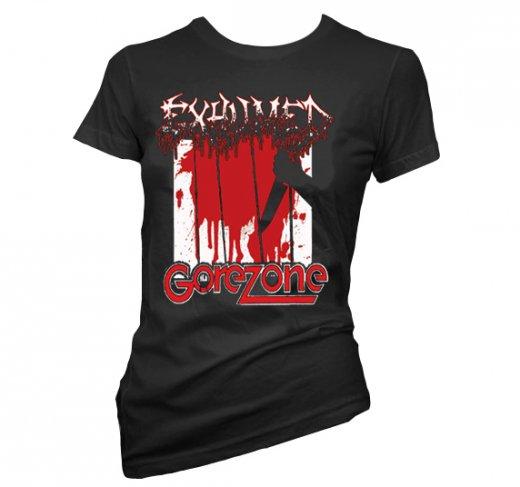 【お取寄せ】Exhumed / イグジュームド - Gore Zone. レディースTシャツ