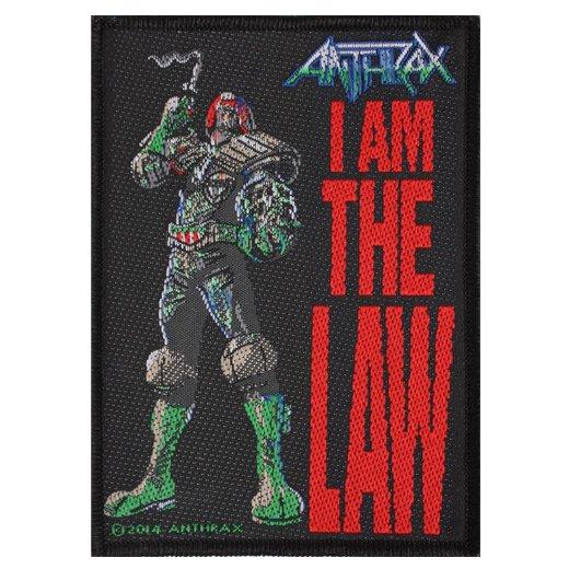Anthrax / アンスラックス - I am the law. パッチ【お取寄せ】