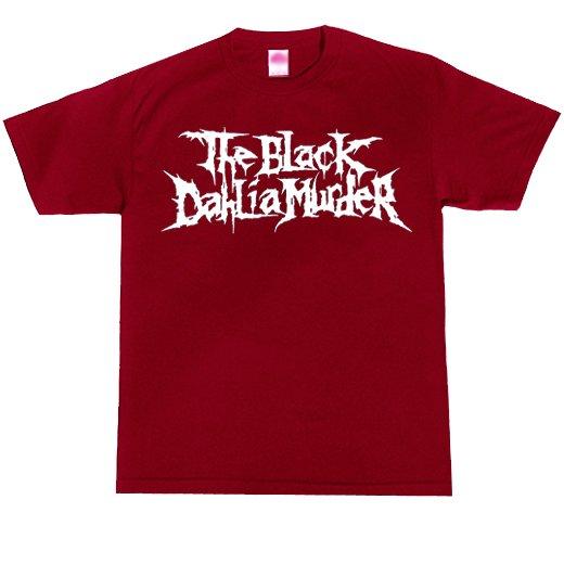 The Black Dahlia Murder / ザ・ブラック・ダリア・マーダー - Classic Logo (Red x White). Tシャツ【お取寄せ】