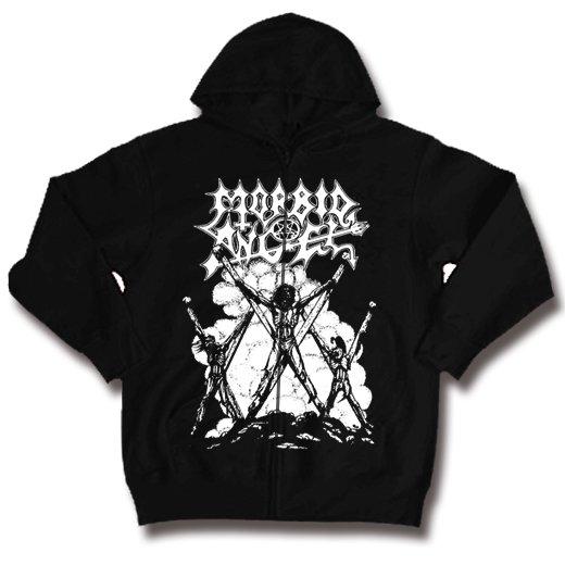 Morbid Angel / モービッド・エンジェル - Thy Kingdom Come. ジップアップパーカー【お取寄せ】