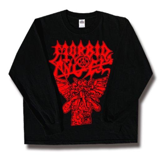 Morbid Angel / モービッド・エンジェル - Hungry Satan. ロングスリーブTシャツ【お取寄せ】