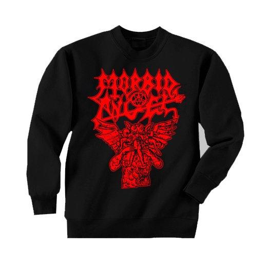 Morbid Angel / モービッド・エンジェル - Hungry Satan. トレーナー【お取寄せ】
