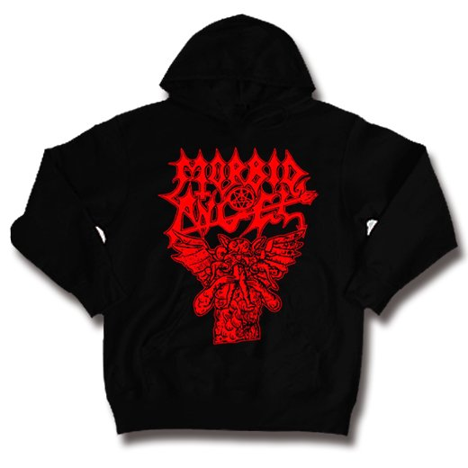 Morbid Angel / モービッド・エンジェル - Hungry Satan. パーカー【お取寄せ】
