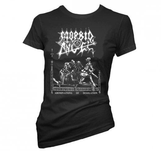 Morbid Angel / モービッド・エンジェル - Abominations Of Desolation. レディースTシャツ【お取寄せ】