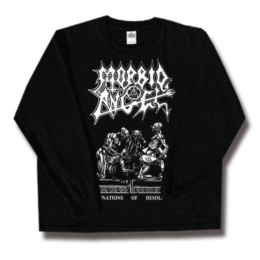 Morbid Angel / モービッド・エンジェル - Abominations Of Desolation. ロングスリーブTシャツ【お取寄せ】
